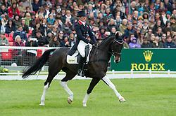 Wilson Nicola, (GBR), Beltane Queen<br /> Dressage <br /> Mitsubishi Motors Badminton Horse Trials - Badminton 2015<br /> © Hippo Foto - Jon Stroud<br /> 08/05/15