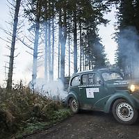 Car 1 Ian Glass / Clifford Auld - Ford 103E
