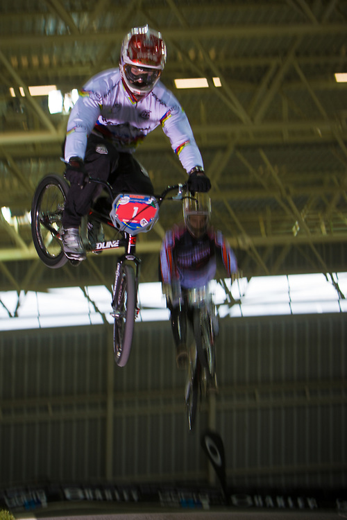 1 (WILLOUGHBY Sam) AUS at the UCI BMX Supercross World Cup in Manchester, UK