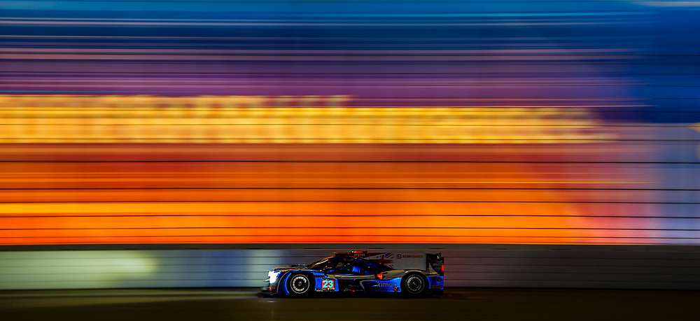 IMSA WeatherTech SportsCar Championship<br /> Rolex 24 Hours<br /> Daytona Beach, Florida, USA<br /> Thursday 25 January 2018<br /> #23 United Autosports Ligier LMP2, P: Phil Hanson, Lando Norris, Fernando Alonso<br /> World Copyright: Scott R LePage<br /> LAT Images<br /> <br /> ref: Digital Image _SRL0819