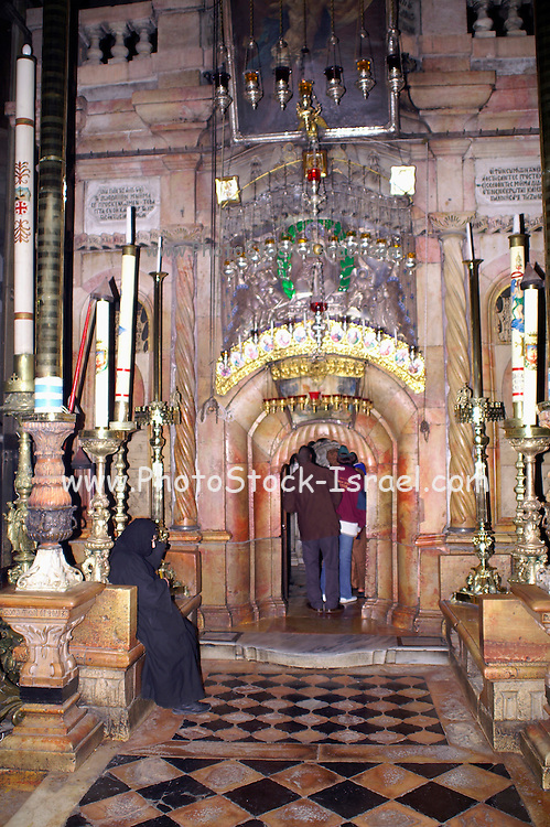 Church of the Holy Sepulchre, in the Christian quarters, Jerusalem, Israel