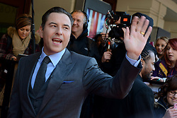 Britain's Got Talent. David Walliams arrives to Britain's Got Talent at Hammersmith Apollo. Hammersmith Apollo, London, United Kingdom. Thursday, 13th February 2014. Picture by Peter Kollanyi / i-Images