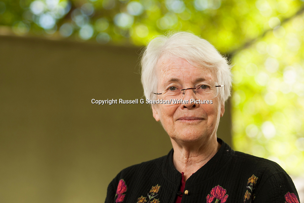 Elizabeth Laird at Edinburgh International Book Festival 2014 <br /> 22nd August 2014<br /> <br /> Picture by Russell G Sneddon/Writer Pictures<br /> <br /> WORLD RIGHTS
