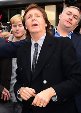 OCT 18 2013 Sir Paul McCartney album signing