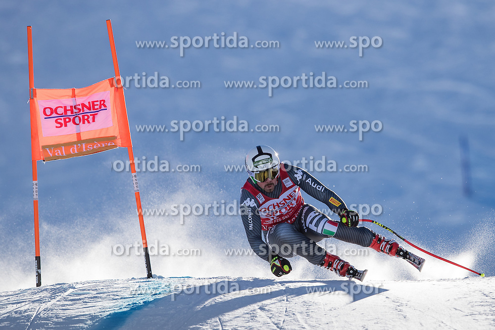 03.12.2016, Val d Isere, FRA, FIS Weltcup Ski Alpin, Val d Isere, Abfahrt, Herren, im Bild Peter Fill (ITA) // Peter Fill of Italy in action during the race of men's Downhill of the Val d'Isere FIS Ski Alpine World Cup. Val d'Isere, France on 2016/12/03. EXPA Pictures © 2016, PhotoCredit: EXPA/ Johann Groder