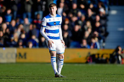 Queens Park Rangers midfielder Jack Clarke (47) makes his debut from the bench during the EFL Sky Bet Championship match between Queens Park Rangers and Leeds United at the Kiyan Prince Foundation Stadium, London, England on 18 January 2020.
