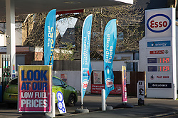 © Licensed to London News Pictures. 10/12/2014.  The prices at the pump for fuel continue to move downwards with the website PetrolPrices.com recording a minimum price of 113.9p per litre today. Petrol price 114.9 seen in these photos from a petrol station in Gravesend, Kent. Credit : Rob Powell/LNP