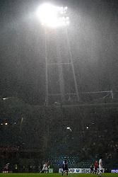 03.08.2011, UPC Arena, Graz, AUT, CL-Qualifiers, SK Sturm Graz vs. FC Zestafoni, im Bild Wolkenbruch über dem Stadion, EXPA Pictures © 2011, PhotoCredit: EXPA/ Erwin Scheriau