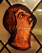 Nine Stained Glass Fragments.  Pot-metal glass, vitreous paint and lead.  French, from the Cathedral of Saint-Etienne, Bourges.  Painted 1200-1215.  The Cathedral of Saint Etienne still preserves a distinguished series of stained glass in its chapels.