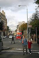 Street scene, Dublin, Ireland<br />
