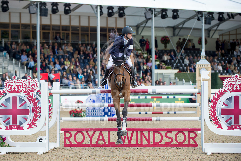 Kent  Farrington  (USA) & Sherkan D´Amaury  - Rolex Grand Prix - CSI5* Jumping - Royal Windsor Horse Show - Home Park, Windsor, United Kingdom - 14 May 2017