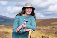 Iona Benvie, lost in the Angus Glens, White Caterthun, Glen Lethnot, Angus, Scotland