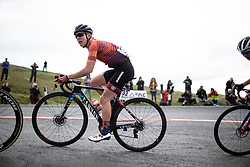 Hannah Barnes (GBR) of CANYON//SRAM Racing climbs on Black Mountain on Stage 6 of 2019 OVO Women's Tour, a 125.9 km road race from Carmarthen to Pembrey, United Kingdom on June 15, 2019. Photo by Balint Hamvas/velofocus.com