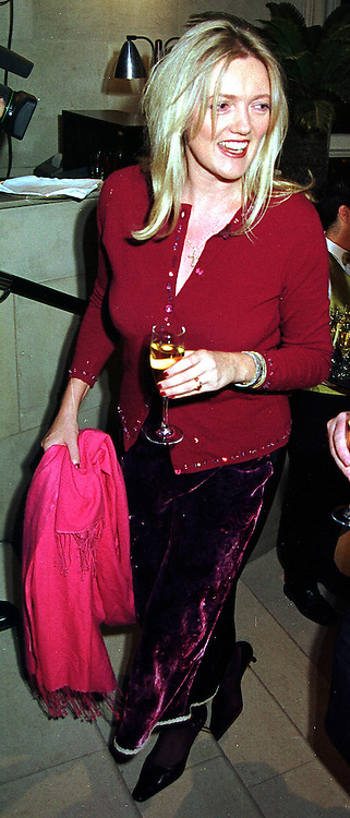 MRS PETER BUTLER she was Annabel Heseltine, at a party in London on 26th October 1999.MYD 5