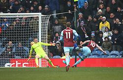 Ashley Barnes of Burnley (R) scores his sides first goal - Mandatory by-line: Jack Phillips/JMP - 03/03/2018 - FOOTBALL - Turf Moor - Burnley, England - Burnley v Everton - English Premier League