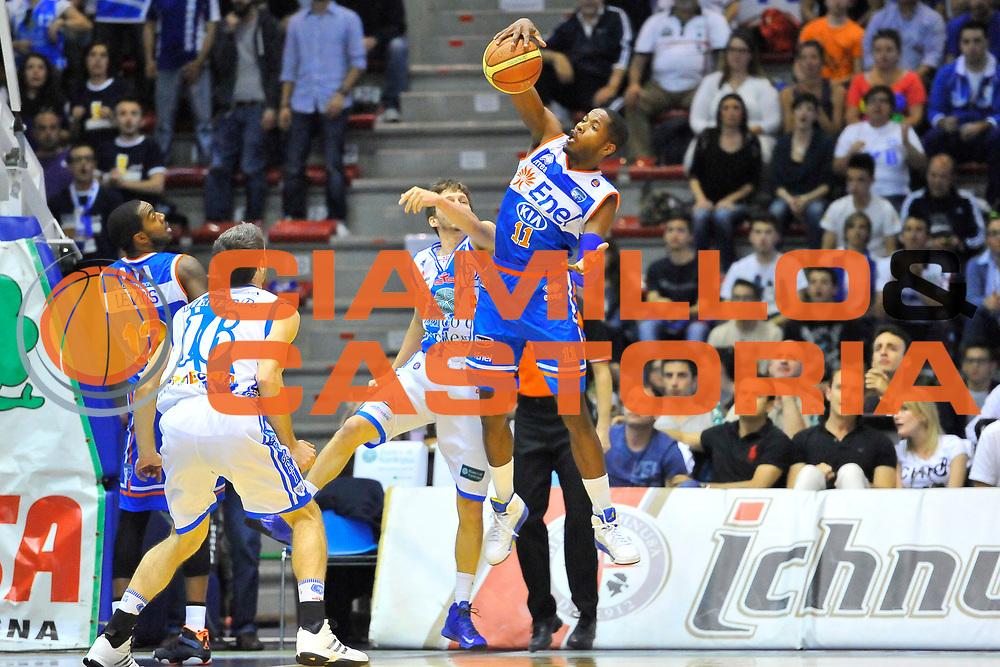 DESCRIZIONE : Campionato 2013/14 Dinamo Banco di Sardegna Sassari - Enel Brindisi<br /> GIOCATORE : Jerome Dyson<br /> CATEGORIA : Rimbalzo Controcampo<br /> SQUADRA : Enel Brindisi<br /> EVENTO : LegaBasket Serie A Beko 2013/2014<br /> GARA : Dinamo Banco di Sardegna Sassari - Enel Brindisi<br /> DATA : 11/05/2014<br /> SPORT : Pallacanestro <br /> AUTORE : Agenzia Ciamillo-Castoria / Luigi Canu<br /> Galleria : LegaBasket Serie A Beko 2013/2014<br /> Fotonotizia : Campionato 2013/14 Dinamo Banco di Sardegna Sassari - Enel Brindisi<br /> Predefinita :