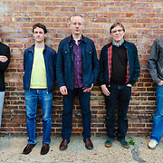 WASHINGTON, D.C. - OCTOBER 2nd, 2010:  Teenage Fanclub, on tour in America behind their latest album, Shadows. L to R: Francis MacDonald, gerard Love, Ray McGinley, Norman Blake and David McGowan. (Photo by Kyle Gustafson/For The Washington Post)
