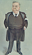 The Irish Petrel': John Edward Redmond (1856-1918) Irish politician. A champion of Home Rule, he became chairman of the Nationalist party in 1900. After cartoon by Spy from 'Vanity Fair', London, 1904.