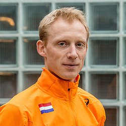 22-03-2017 NED: Teampresentatie EK Atletiek Indoor, Arnhem<br /> Coach Peter Wolters tijdens de teampresentatie van het atletiek EK indoor op Papendal.