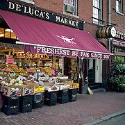 De Lucas Market and Deli on Charles Street on Beacon Hill Boston MA