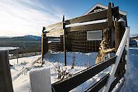 Noorwegen Langedrag 31 december 2008 20081231 Foto: David Rozing .Landschap en waakhond.Landscape and dog at house..Foto: David Rozing