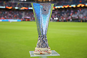 The Europa League Trophy before the Europa League Final between Ajax and Manchester United at Friends Arena, Solna, Stockholm, Sweden on 24 May 2017. Photo by Phil Duncan.