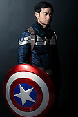 Osric Chau // Captain America Cosplay 2016