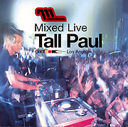 "CD Cover for DJ Tall Paul's ""Mixed Live"" album, from Moonshine Music."