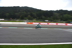 August 10, 2018 - Spielberg, Austria - 48 Italian driver Lorenzo Dalla Porta of Team Leopard Racing race during free practice of Austrian MotoGP grand prix in Red Bull Ring in Spielberg, Austria, on August 10, 2018. (Credit Image: © Andrea Diodato/NurPhoto via ZUMA Press)