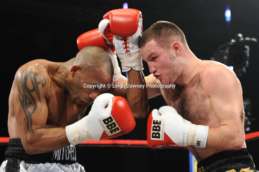 Glenn Foot defeats Dee Mitchell - 22nd January 2011 at Doncaster Dome, Doncaster - Frank Maloney Promotions. Credit © Leigh Dawney.