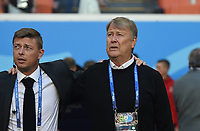 (180616) -- SARANSK, June 16, 2018 -- Denmark s head coach Age Hareide (R) is seen prior to a group C match between Peru and Denmark at the 2018 FIFA World Cup WM Weltmeisterschaft Fussball in Saransk, Russia, June 16, 2018. ) (SP)RUSSIA-SARANSK-2018 WORLD CUP-GROUP C-PERU VS DENMARK HexCanling PUBLICATIONxNOTxINxCHN