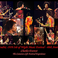 Jimi Hendrix -.Jimi's Many Faces .- Jimi's performance at the 1970 Isle of Wight festival was stunning, and this collection of cameos from the event will bring back the memory of this truly amazing man.