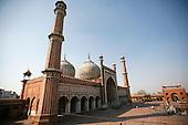 Jama Masjid Mosque - Delhi - India
