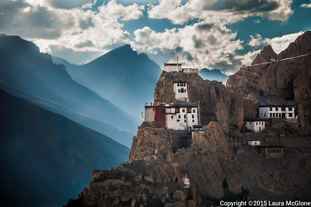 Dhankar Tibetan Monastery, Spiti Valley, India