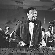 Lionel Hampton, vibraphonist, band leader, jazz pioneer. 1985, Cambridge, MA