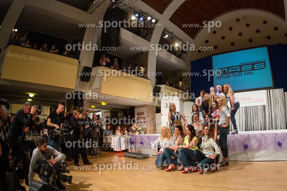 at Miss Sports of Slovenia 2015, on April 18, 2015, in Festivalna dvorana, Ljubljana, Slovenia