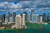 Brickell Key & Downtown Miami