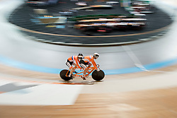 , NED, Sprint Qualifiers, 2015 UCI Para-Cycling Track World Championships, Apeldoorn, Netherlands