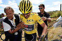 Sykkel<br /> Foto: PhotoNews/Digitalsport<br /> NORWAY ONLY<br /> <br /> Crash of CANCELLARA Fabian of Trek Factory Racing during the stage 3 of the 102nd edition of the Tour de France 2015 with start in Antwerp and finish in Huy, Belgium (159 kms) *** HUY, BELGIUM - 6/07/2015