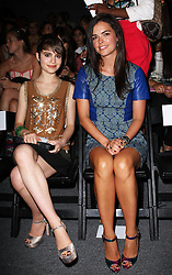 Sami Gayle and Katie Lee  at the Tracy Reese show at  New York Fashion Week  Sunday, 9th September 2012. Photo by: Stephen Lock / i-Images