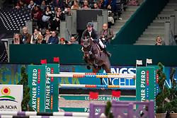 WERNKE Jan (GER), Nashville HR<br /> Leipzig - Partner Pferd 2019<br /> Championat von Leipzig<br /> 19. Januar 2019<br /> © www.sportfotos-lafrentz.de/Stefan Lafrentz