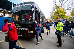 Matt Taylor of Bristol City arrives on the coach - Rogan/JMP - 18/11/2017 - Hillsborough Stadium - Sheffield, England - Sheffield Wednesday v Bristol City - Sky Bet Championship.