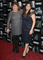 Cheryl Fergison; Nina Wadia Four UK Premiere, Empire Cinema, Leicester Square, London, UK. 10 October 2011. Contact: Rich@Piqtured.com +44(0)7941 079620 (Picture by Richard Goldschmidt)