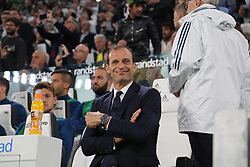 September 23, 2017 - Turin, Piedmont, Italy - Massimiliano Allegri, head coach of Juventus FC,  before the Serie A football match between Juventus FC and Torino FC at Allianz Stadium on 23 September, 2017 in Turin, Italy. (Credit Image: © Massimiliano Ferraro/NurPhoto via ZUMA Press)
