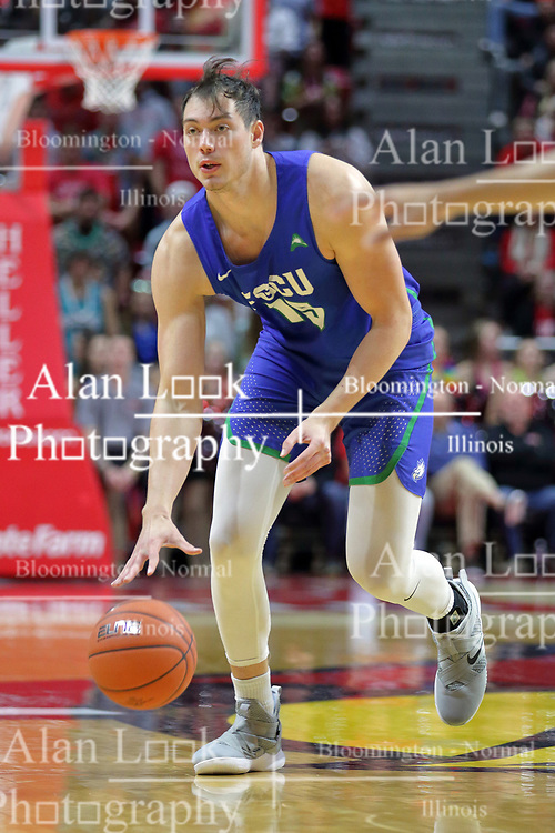 NORMAL, IL - November 06:  Ricky Doyle during a college basketball game between the ISU Redbirds  and the Florida Gulf Coast Eagles on November 06 2018 at Redbird Arena in Normal, IL. (Photo by Alan Look)