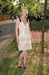 Actress MARGO STILLEY at the Serpentine Gallery Summer party sponsored by Yves Saint Laurent held at the Serpentine Gallery, Kensington Gardens, London W2 on 11th July 2006.<br /><br />NON EXCLUSIVE - WORLD RIGHTS