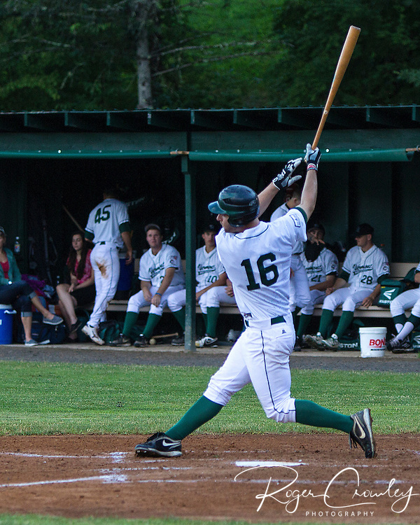 Vermont Mountaineers defeated the Keene Swampbats 5-4 in an NECBL game at Recreation Field in Montpelier.