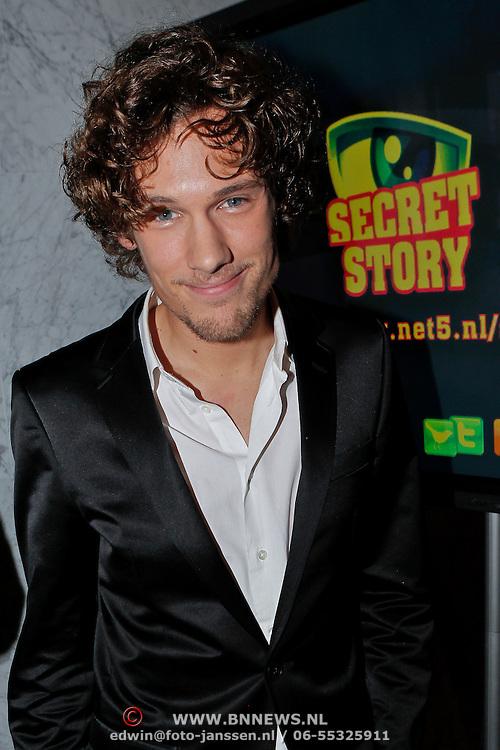 NLD/Amsterdam/20110118 - Perspresentatie nieuw SBS realityprogramma Secret Story, Bart Boonstra