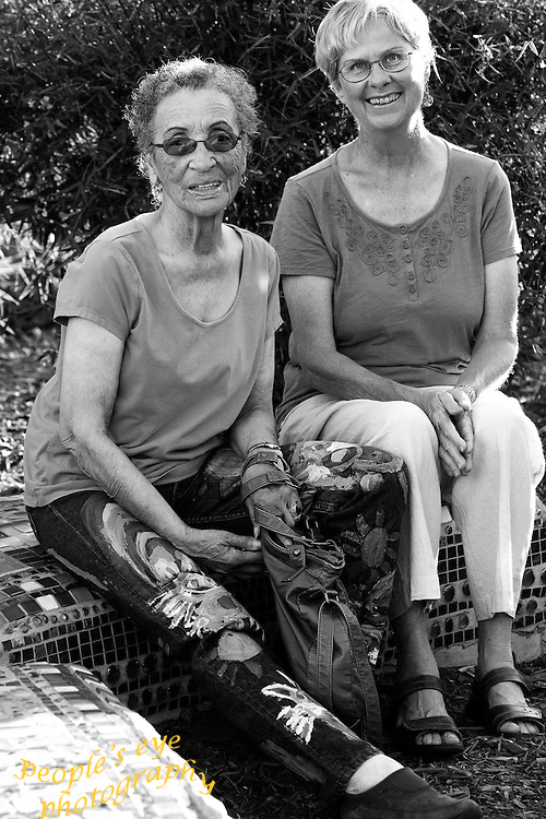Community leaders Marilyn Langlois and Betty Reid Soskin have a history of speaking out for the rights of individuals and communities. By putting their lives on the front lines for justice, equality, and peace, among all people, they add to the vibrant culture of Richmond, and hope to make the city a better place for all!