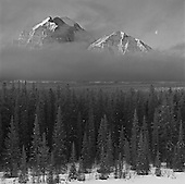Spectacular Images of Mountains in black & white for sale
